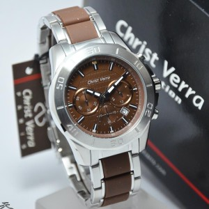 harga Christ Verra 67175G-11 Silver Brown Original Tokopedia.com