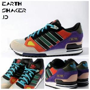 adidas zx 750 multi colored