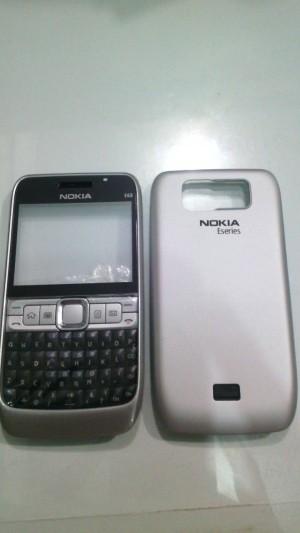 harga Casing Nokia E63 HQ Silver Tokopedia.com