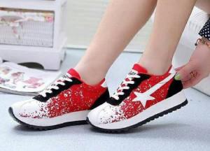 harga Sepatu Cats Merah Tokopedia.com
