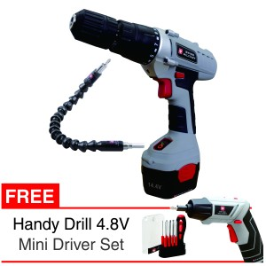BOR SWISS MILITARY CORDLESS DRILL