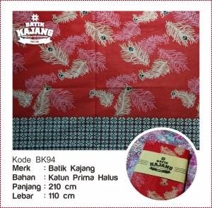 harga Batik Motif Bulu Merak K94 Bahan Katun Prima Halus Tokopedia.com