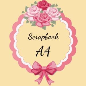 Scrapbook Frame 3D Ukuran A4