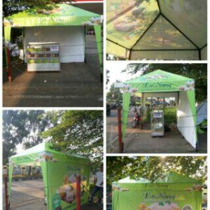 Tenda Jualan 3 x 2 / Tenda Cafe / Tenda Piramid