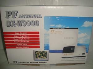 Penguat Sinyal TV / Booster Outdoor Antena TV PF DX-W9900 (ORIGINAL/AS