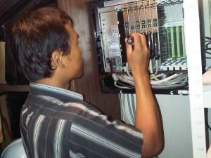 Jasa seting program dan instalasi PABX Panasonic