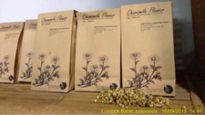 bunga chamomile kering