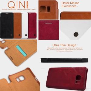 harga Nillkin Qin Leather Flip Case Samsung Galaxy Note 5 Cover Tokopedia.com