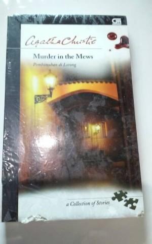 Novel Agatha Christie - Murder in the Mews Pembunuhan di Lorong