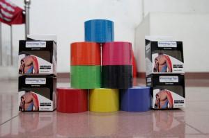 harga [JakartaKinesio] Kinesio Tape / Taping Sport / Rubber Strap - Merah Tokopedia.com
