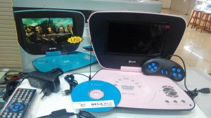 Portable Dvd Player GMC LED 7