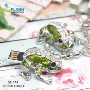harga Flashisk Unique Green Froggie 8GB / Katak Hijau Tokopedia.com