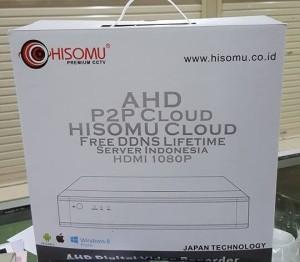 DVR AHD Economi 4CH Hisomu Server Lokal