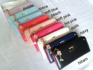 Dompet Wanita Import Korea ZIPPER semua warna