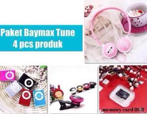 harga PAKET BAYMAX TUNE (Headphone + ipod mini shuffle + superwide lens+..) Tokopedia.com