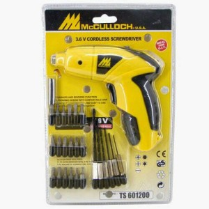 Bor drill mcculloch/bor tangan