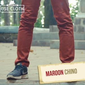 harga Celana chino, jogger, cargo panjang Maroon [LocalBrand: USE-CLOTH] Tokopedia.com