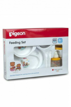 harga PIGEON FEEDING SET W/ TRAINING CUP    PERLENGKAPAN MAKAN BAYI Tokopedia.com