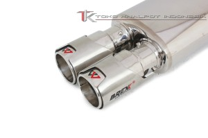 KNALPOT MOBIL BREXX MASTERPIECE V-POWER TWIN ULTIMA (VH-TU-01)