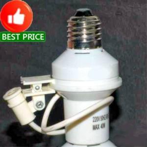 Fitting Lampu Sensor Cahaya Otomatis (Lampu Nyala Otomatis ...
