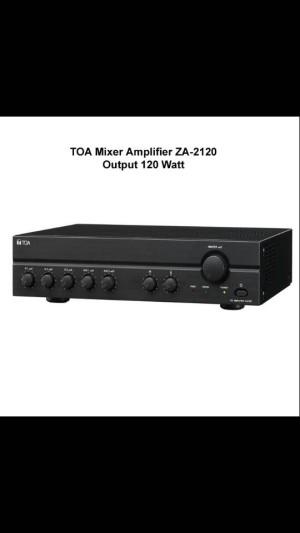 Mixer Ampli Toa ZA 2120 ( ORIGINAL )