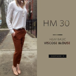 harga H&M VISCOSE ARROW IVORY BLOUSE Tokopedia.com
