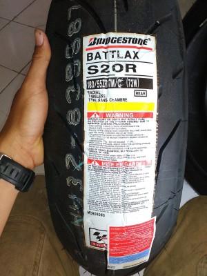 Ban Moge / Sport Battlax S20R 180/55 - 17