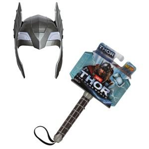 jual mainan anak hammer helmet thor palu dan helm thor negozio