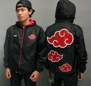 Jaket Akatsuki Naruto Parasut