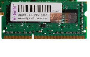 Jual VGen SODIMM DDR3 8Gb PC 10600 1333 12800 1600