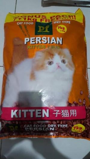 harga Makanan kucing cat food PF PERSIAN KITTEN 8kg PET FOREST Tokopedia.com