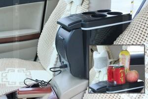 KULKAS Portable 6L / Lemari Es Pendingin Mobil kapasitas 6L