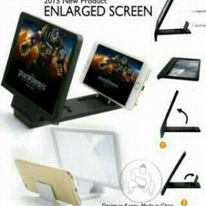 Kaca Pembesar Layar HP / Enlarged Screen Handphone
