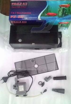 harga Whale WH 812 - Mesin Pompa Set - Top Filter Atas Aquarium / Aquascape Tokopedia.com