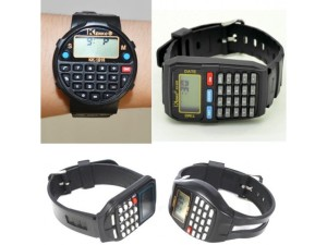 jam tangan digital kalkulator calculator watch