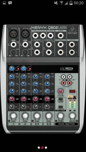 harga Mixer Behringer XENYX Q 802 USB  ( 6 channel ) Tokopedia.com