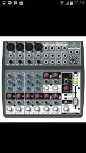 harga Mixer Behringer XENYX 1202 FX ( 12 channel ) Tokopedia.com