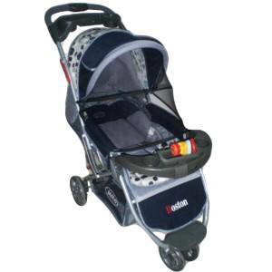 harga Pliko Boston PK-338 - Baby Stroller / Kereta Dorong Bayi Biru Navy Tokopedia.com