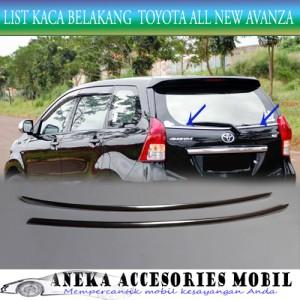 harga List Kaca Belakang/back list kaca Toyota All New Avanza/Veloz Stainles Tokopedia.com