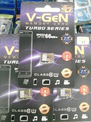 Memory Card Micro SD V-gen 16gb Class10 Turbo Original Grosir