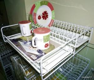 Rak Piring Dapur Modelline Cherry Rak + Tray KSR01 + T