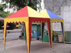 Tenda Cafe 2 x 2 / Tenda Jualan / Tenda Kerucut