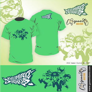 harga KAOS GAME SUPER MARIO STRIKERS - MERK ORIGINAL GAMERDISTRO BANDUNG - BKN KASET PC GAMES DVD PS3 XBOX Tokopedia.com