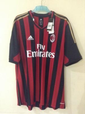 Home Jersey Milan Original kan Abal-Abal Asli Adidas
