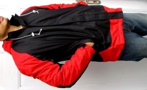 jaket outdoor / jaket gunung / waterproof (anti air) size XXL