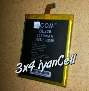 Baterai/Battery Lenovo S860 (BL226) 8000mAh