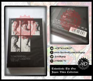 [READY STOCK] DBSK / TVXQ / Tohoshinki The One Video Clip Collection