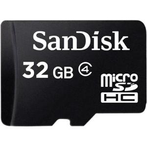 Sandisk 32 GB class 4