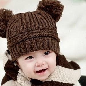 Ball Hat / Topi Rajut Baby