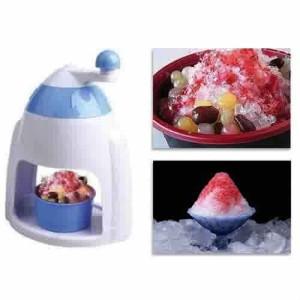 Alat Serut Es / Mesin Serutan Es Campur ~ Mini Snow Cone Machine